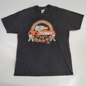 Vintage 90's Sturgis Motorcycle Rally T-shirt XL